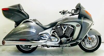2008 Victory Vision Tour Premium  2008 Victory Vision Tour Premium Freedom 106CI V-Twin 6-speed Tour Pack Touring