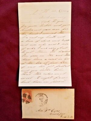 "Civil War Soldier Letter 3rd NY Cavalry - ""Watch pretty close for the Johnnies!"""