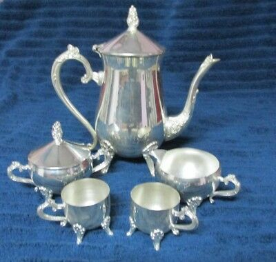 Silver tea set from Russia. Never used.