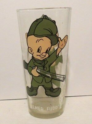 ELMER FUDD  1973 Pepsi Collector Series Glass Warner Brothers Looney Tunes