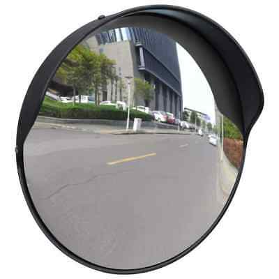 vidaXL 12 Outdoor Traffic Convex PC Mirror Wide Angle Driveway Safety Security