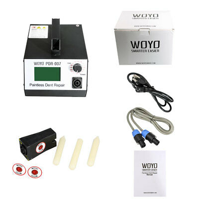 New WOYO PDR007 Induction Heater Car Removal Paintless Dent Sheet Repair Tool