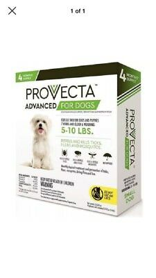 Provecta Advanced For Dogs 5-10 lbs. (4 Dose)
