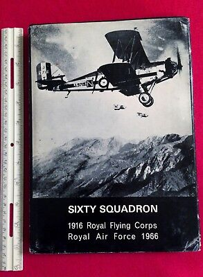60 SQUADRON ~ SIGNED BY WWI ACE WILLY FRY on Attached Letterhead ~ 1966 RAF