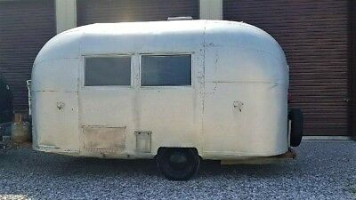 RARE Vintage 1963 Airstream Bambi Travel Trailer