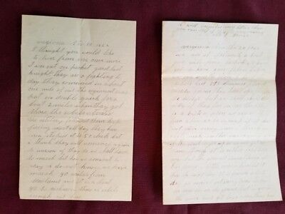 Two Civil War Soldier Letters Benjamin Nelson 11th NH Killed Fredericksburg, VA