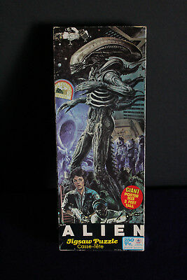 Vintage ALIEN Large Jigsaw Puzzle - 1979 HG Toys - Complete with all pieces!