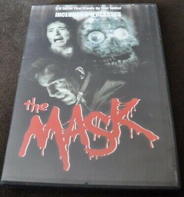 The Mask (DVD, 2008, 3-D, Region 1 NTSC, English Audio)