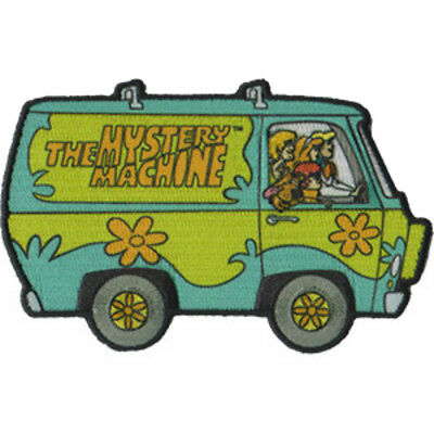 Scooby Doo Mystery Machine Van Embroidered Patch Iron on or Sew on