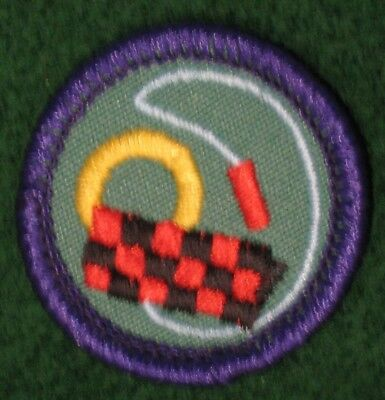 Toy Maker Games Jump Rope Junior Girl Scout Badge Patch - NEW
