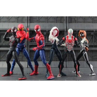 Legends Spider Man Action Figure 6 Loose Spiderman Custom Homecoming Toy Gift