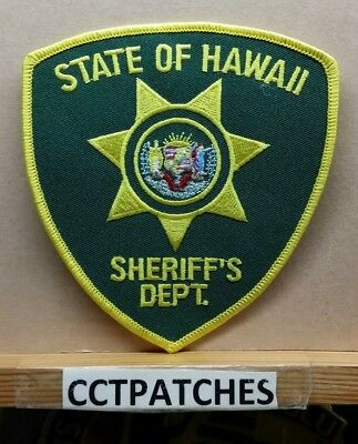 Hawaii Sheriff Department (Police) Shoulder Patch