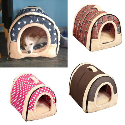 Pet Dog Cat Bed Puppy Cushion House Soft Warm Kennel Dog Mats Washable Blankets