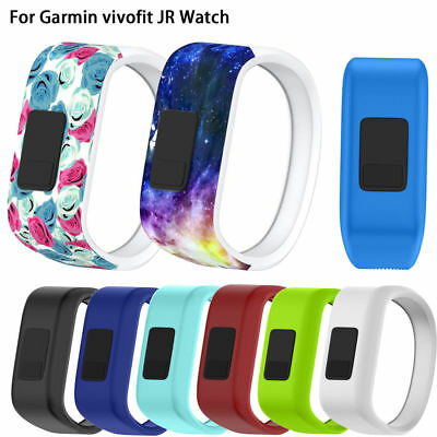 Large/Small Replacement Wrist Band Silicone Clasp For Garmin vivofit JR Watch AU