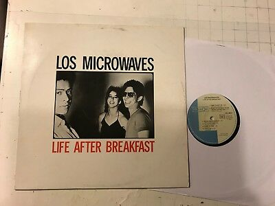LOS MICROWAVES LIFE AFTER BREAKFAST lp '82 celluloid france synth new wave rare!