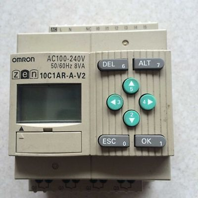 1 pcs Used Omron ZEN-10C1AR-A-V2 PLC  tested