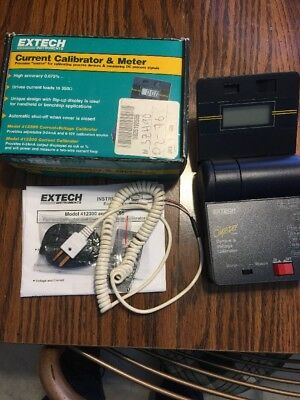 Extech 412355 Current / Voltage Calibrator Process Devices Measuring DC Signals