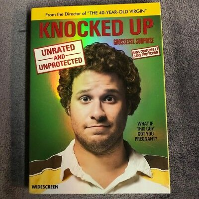 Knocked Up (DVD, 2007, Unrated and Unprotected Widescreen)
