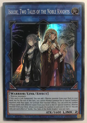 Yu-Gi-Oh! SOFU-ENSE1 - Isolde, Two Tales of the Noble Knights - Limited - SR