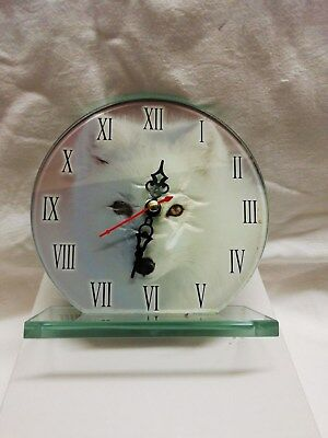 (110)         Mantle Peice Clock Made By Acctim Quartz Battery Movement(New)