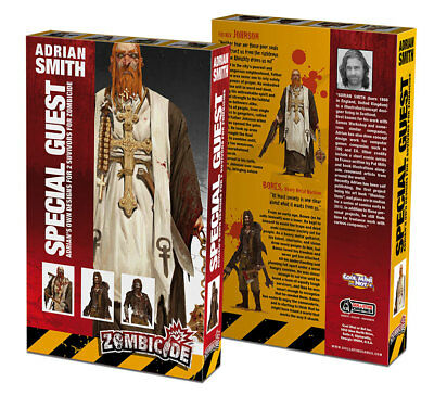 Zombicide: Special Guest Art Box Adrian Smith CoolMiniOrNot