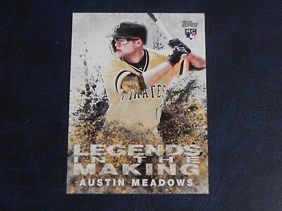 2018 Topps Update Baseball Legends in the Making #4 Austin Meadows Pirates