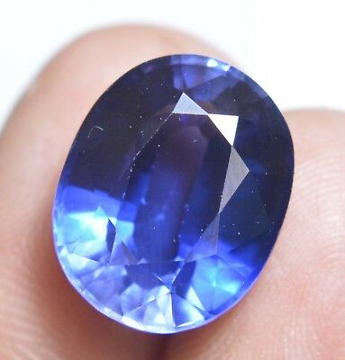 VVS 20.50 Ct Natural Kashmiri Blue Sapphire GGL Certified AAA++ Loose Gemstone