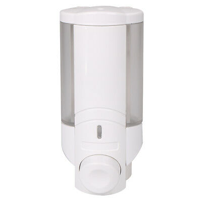 Soap Dispenser Bathroom Wall Mount Shower Shampoo Lotion Container Holder  JF