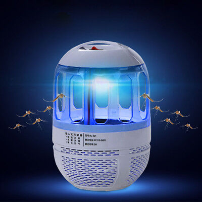 Safe Electric Mosquito Killer Fly Bug Insect Trap Catcher Night Light LED Lamp