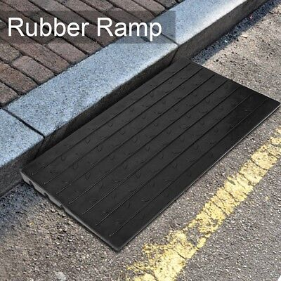 Large Rubber Kerb Ramps Cars Truck Wheelchair Disabled  107 x 61 x 6.5cm