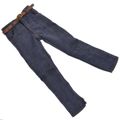 1:6 Doll Clothes Dark Blue Handmade Jeans Pants For Ken Doll Trousers Wear