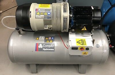 Hydrovane 504 Receiver Mounted Rotary Vane Compressor 4.0Kw! 20cfm! Immaculate!