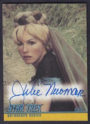 Star Trek Quotable Tos Autograph  Julie Newmar As Eleen  A99