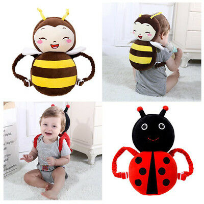 Baby Head Back Neck Protection Pillow Toddler Headrest Pad Kid Wings Cushion Toy