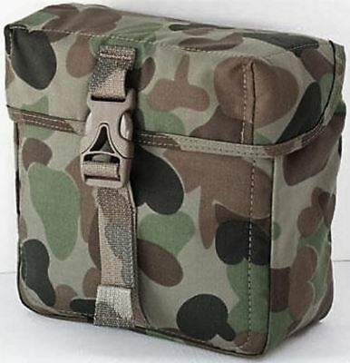 CROSSFIRE DPCU Minimi Pouch Military Field Gear and Webbing - GREEN CAMO