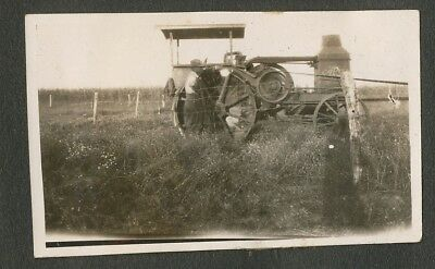 1925-27 Original Vintage Rumely Oil Pull Farm Tractor, Dead Wolf 40-Photo Album