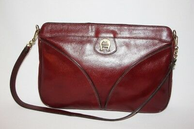 ETIENNE AIGNER - Vintage Clutch Style Bag w/ Detachable Shoulder Strap