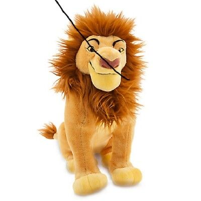 """NEW USA Disney Store The Lion King Simba Plush 14""""  Sold Out Rare 2017"""