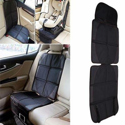 Black Car Seat Protector Cover Auto Mat Child·Baby Safety Non Slip for Kids one