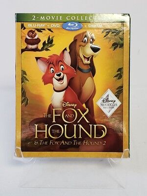 NEW Disney The Fox And The Hound Blu-ray DVD