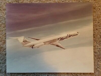 Muse Airlines test flight/promo photo. 8x10 airplane.