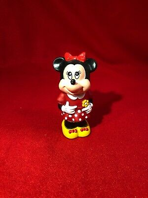 Vintage Walt Disney Minnie Mouse figure 1986 - Tootsietoy - Made in China