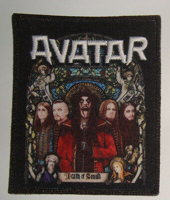 AVATAR-DEATH OF SOUND Embroidered PATCH Arch Enemy Dark Tranquillity Wolfheart