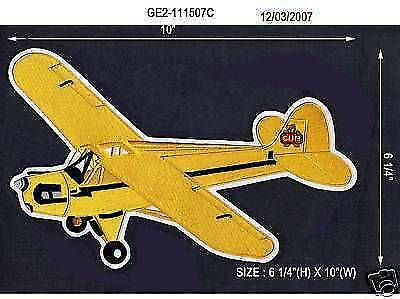 J3 Cub Jacket Sized Embroidered Airplane/aircraft Patch