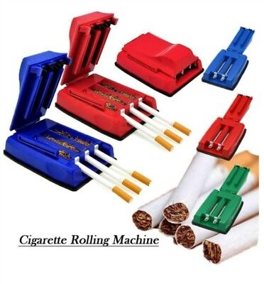 One Manual Triple Cigarette Tube Injector Roller Maker Tobacco Rolling Machine