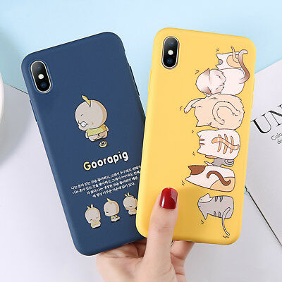 Cute Pattern Ultra Thin Soft TPU Protector Case for iPhone XS Max XR 6 7 8 Cover