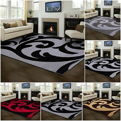 New Modern Rugs Floral Small and Large Bedroom Floor Kitchen Florence Area Rugs