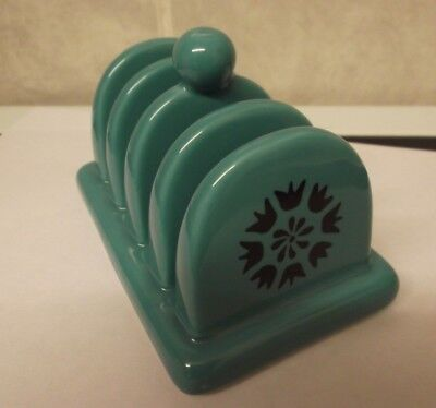 Collectable Dark Turquoise Toast Rack