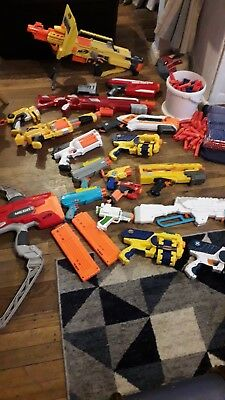 Huge NERF Gun Bundle PLUS AMMO