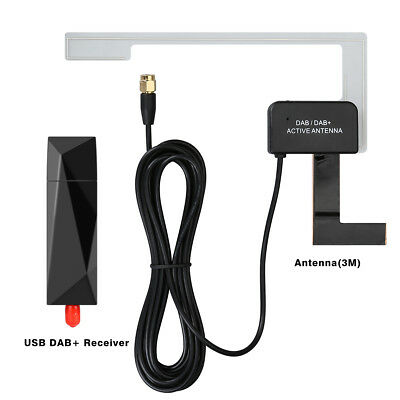USB DAB+ Digital Radio Tuner Dongle for XTRONS Eonon Android 8.0/7.1 Car Stereo
